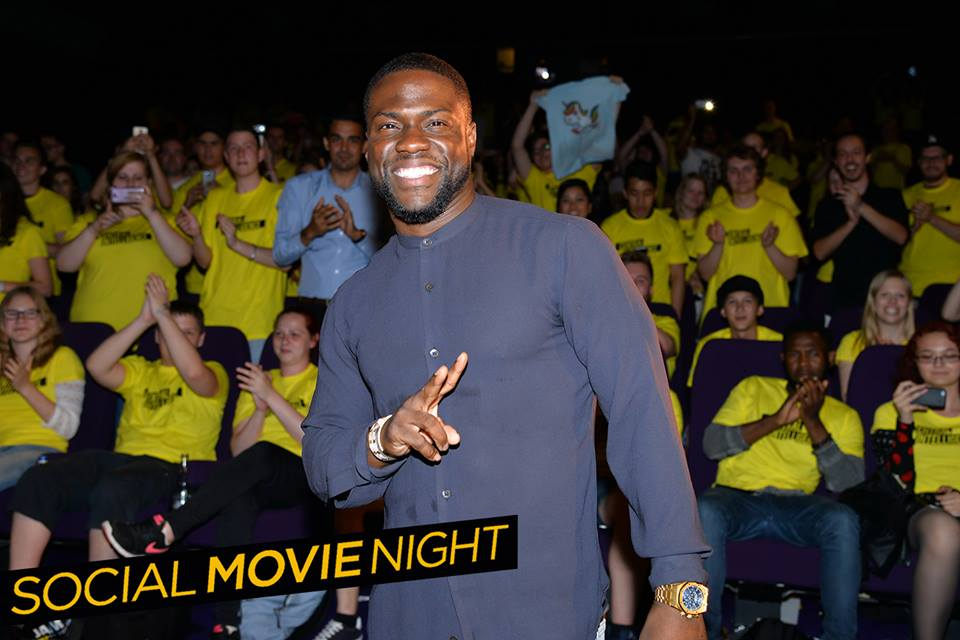 Kevin Hart in Berlin bei der Social Movie Night zu Central Intelligence