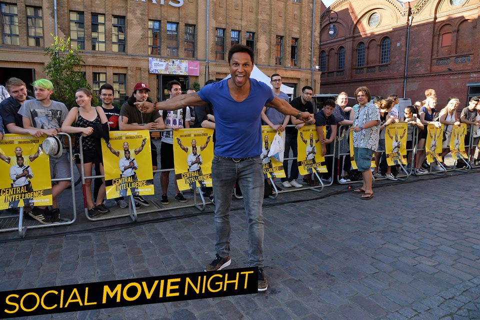 daniel aminati in Berlin bei der Social Movie Night zu Central Intelligence