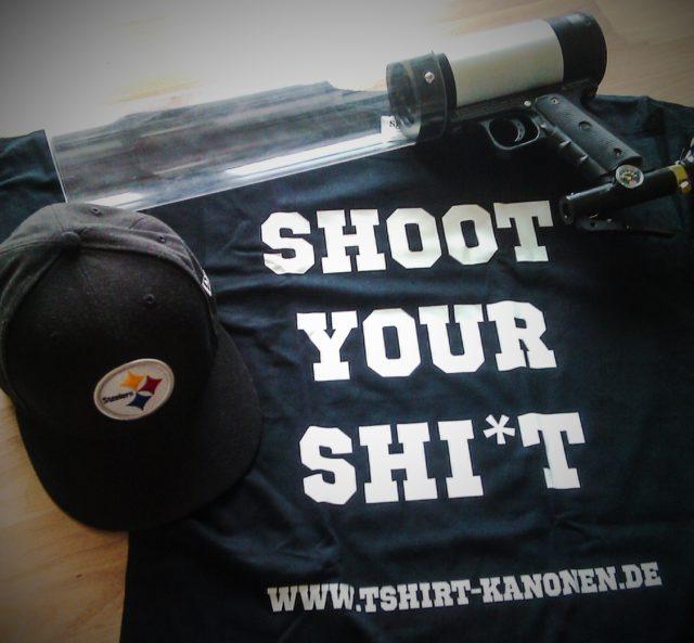 Shoot Your Shi*t das klassik Shirt