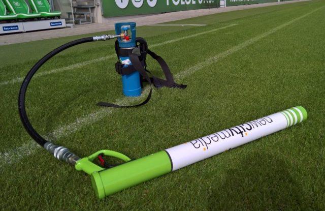 T-Shirt Kanone T-Stadium im Kundendesign VFL Wolfsburg_tshirt kanone kaufen