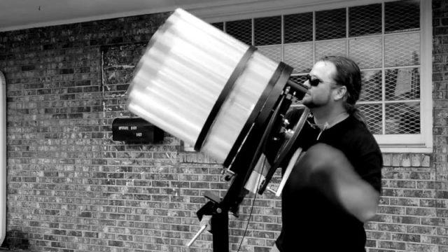 Gatling Gun T-Shirt Booster mit schwarz weiss