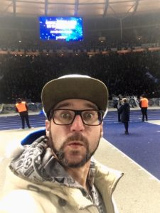in der Ostkurve hertha BSC berlin