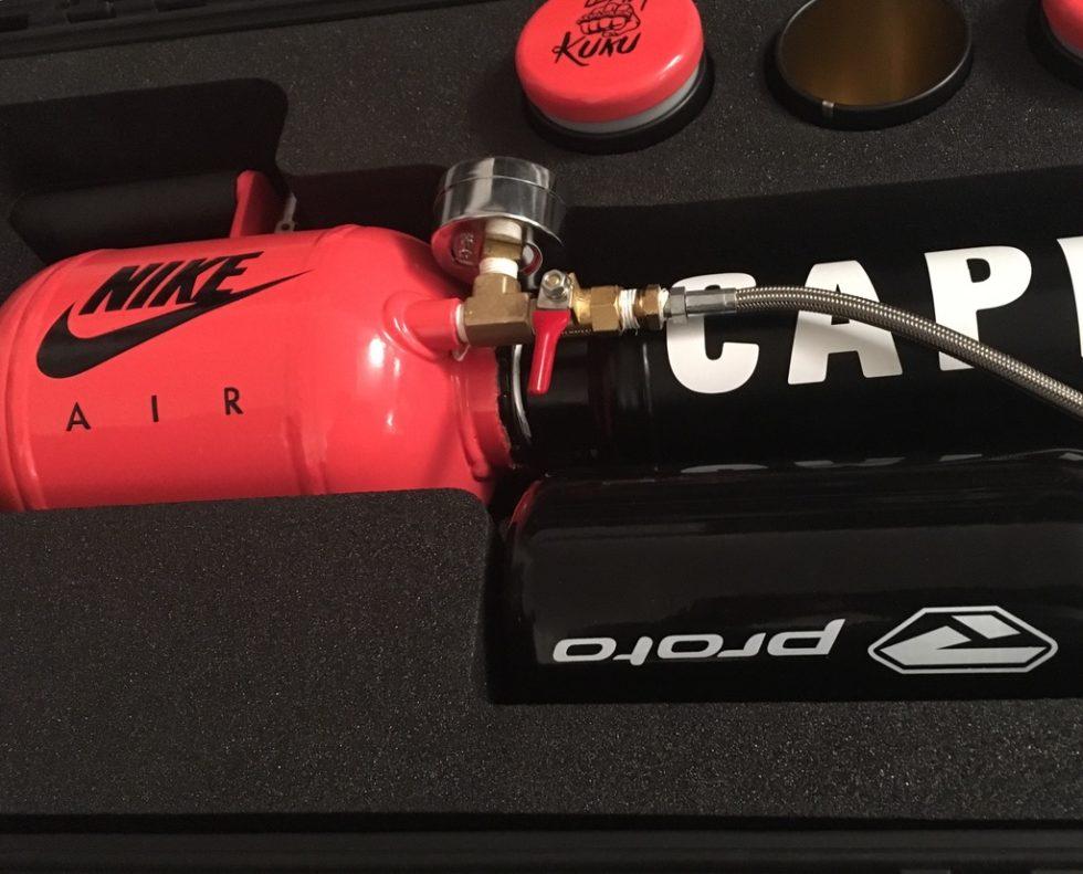 capital bra nike t-shirt kanone custom case