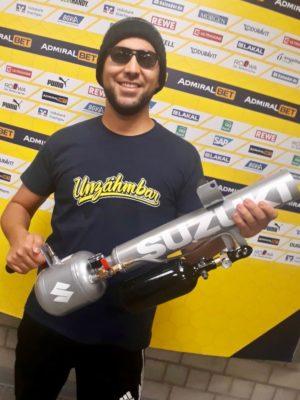 promoter mehmet bei tshirt-kanonen berlin und hagen